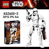 Конструктор аналог лего LEGO Star Wars: KSZ605-2 Штурмовик Первого Ордена 75114  Звездные войны, фото 5