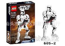 Конструктор аналог лего LEGO Star Wars:KSZ605-2 Штурмовик Первого Ордена 75114Звездные войны