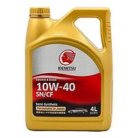 Моторное масло IDEMITSU SN/CF 10w40 4L