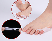 Разделители пальцев стопы с защитой косточки мизинца, 1 пара