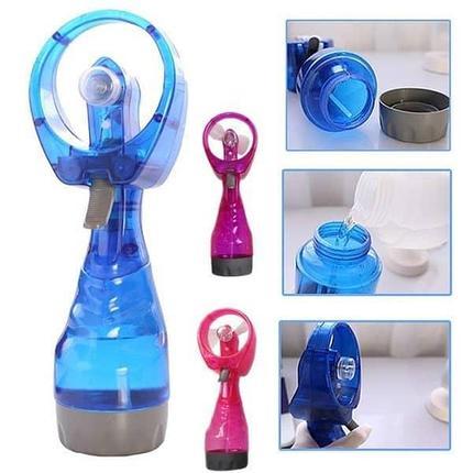 Портативный ручной вентилятор с пульверизатором, фото 2
