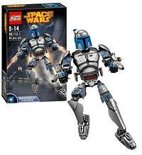 Конструктор аналог лего LEGO 75107 Star Wars: KSZ712-1 Джанго Фетт Звездные войны