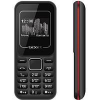 Мобильный телефон Texet TM-120 черно-красный
