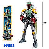 Конструктор аналог лего LEGO 75533 Star Wars: KSZ325 Бобо Фетт Boba Fett Звездные войны, фото 4