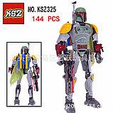 Конструктор аналог лего LEGO 75533 Star Wars: KSZ325 Бобо Фетт Boba Fett Звездные войны, фото 3