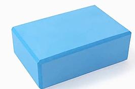 Кирпич для йоги (опорный блок) из пены