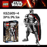 Конструктор аналог лего LEGO 75118 Star Wars: KSZ605-4 капитан фазма Звездные войны, фото 4