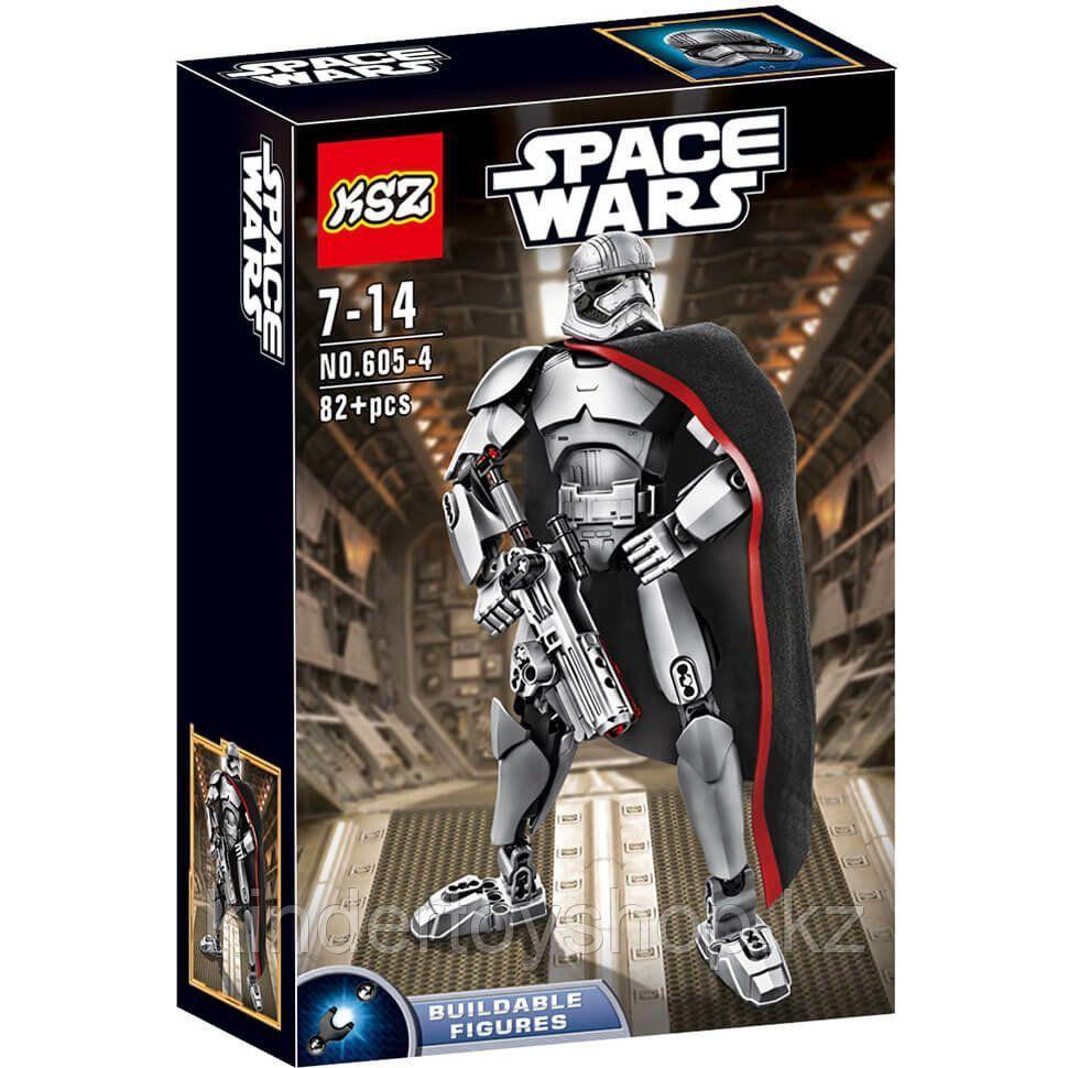 Конструктор аналог лего LEGO 75118 Star Wars: KSZ605-4 капитан фазма Звездные войны