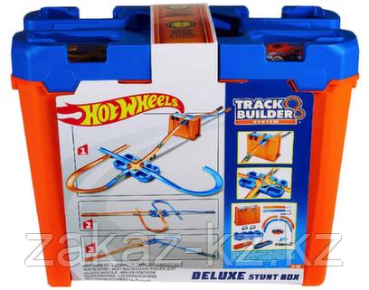 ХОТ ВИЛС, Трюковый набор трасс премиальный DELUXE STUNT BOX Hot Wheels