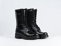 Ботинки с высокими берцами женские (с застежкой молния)