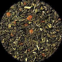 """Зелёный чай """" Клубника со сливками и календулой"""""""