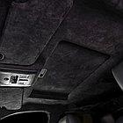 Алькантара на поролоне без клея черного цвета, фото 2