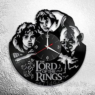 Настенные часы из пластинки Властелин Колец The Lord of the Rings, подарок фанатам, 0041