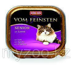 Консервы VOM FEINSTEN SENIOR с ягненком для кошек старше 7 лет.