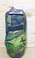 Груша с перчаткой военной в сетке 34*15