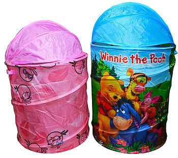 R2001 корзинка круглая  для игрушек разные виды 78*34см