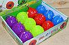 ZSQ soace ball святищиеся мячики на резинке пищалка цена за  уп 7*7см