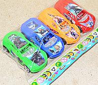 8240 спортивная машина Мстители в пакете 4в1 16*10см