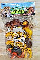 Q701-9 Животные в пакете 10шт в пакете 41*23см