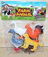 Q901-4 Домашние Животные farm animal в пакете 28*23см