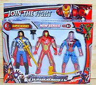 299A-3 Мстители 3 в 1 Join The Fight Superheroes 32*29