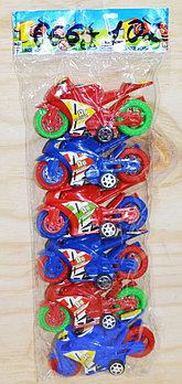 666-102 мотоцикл 6в1 в пакете 26*10см