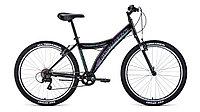 """Велосипед FORWARD DAKOTA 26 1.0 (26"""" 6 ск. рост 16.5"""") 2020-2021, черный/красный, RBKW1M166002"""