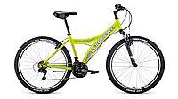 "Велосипед FORWARD DAKOTA 26 2.0 (26"" 18 ск. рост 16.5"") 2020-2021, желтый/белый, RBKW1M16E003"