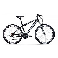 """Велосипед FORWARD FLASH 26 1.2 (26"""" 21 ск. рост 15"""") 2020-2021, черный/серый, RBKW1M16G022 /87120030"""