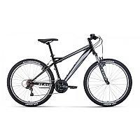 """Велосипед FORWARD FLASH 26 1.2 (26"""" 21 ск. рост 17"""") 2020-2021, черный/серый, RBKW1M16G026 /87120030"""