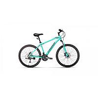 """Велосипед FORWARD HARDI 26 2.0 disc (26"""" 21 ск. рост 17"""") 2020-2021, мятный/черный, RBKW1M66Q022"""