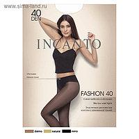 Колготки женские INCANTO Fashion 40 ден, цвет чёрный (nero), размер 2