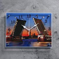 """Часы настенные, серия: Город, """"Мост"""", 30х40 см, микс"""