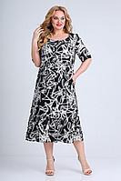 Женское летнее из вискозы большого размера платье Jurimex 2494 54р.