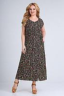 Женское летнее из вискозы большого размера платье Jurimex 2484 58р.