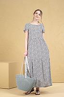 Женское летнее черное платье Deesses 1040.1 44р.