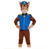 Карнавальный костюм 'Гончик-Чейз', куртка, бриджи, маска, р. 28-30, рост 104-110 см