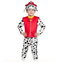Карнавальный костюм 'Маршалл', куртка, бриджи, маска, р. 28-30, рост 104-110 см