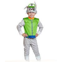 Карнавальный костюм 'Рокки', куртка, бриджи, маска, р. 28-30, рост 104-110 см
