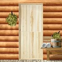 Дверь для бани 'Эконом', 180x70см