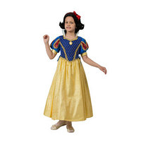 Карнавальный костюм 'Принцесса Белоснежка', бархат, размер 32, рост 122 см