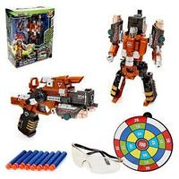Робот 'Суперпушка', трансформируется в пистолет, стреляет мягкими пулями