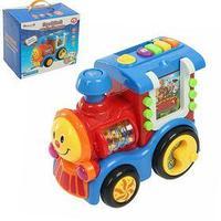 Игрушка развивающая 'Весёлый паровозик' с обучающими карточками, световые и звуковые эффекты