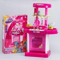 Игровой набор 'Модная кухня' в чемоданчике, с аксессуарами, свет, звук, высота 65, 5см, WINX