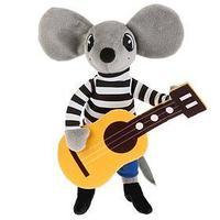 Мягкая игрушка 'Мышонок с гитарой'