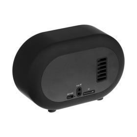 Портативная колонка Hiper RETRO S, BT, 5 Вт, Micro-USB, 1800 мАч, черная - фото 3