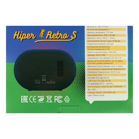 Портативная колонка Hiper RETRO S, BT, 5 Вт, Micro-USB/AUX, 1800 мАч, синяя - фото 7