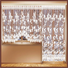 Комплект занавесок для окон с балконной дверью 170х240 см, 255х160 см, разноцветный, 100 п/э - фото 1