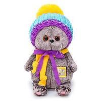 Мягкая игрушка 'Басик BABY в вязаной шапке', 20 см