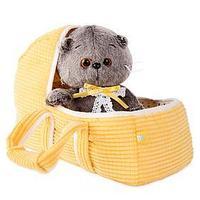 Мягкая игрушка 'Басик BABY', в люльке, 20 см